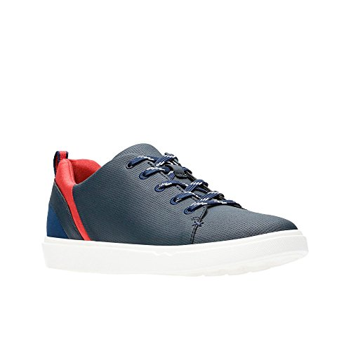 Clarks Womens Navy 'Step Verve Lo.' Lace-up Shoes