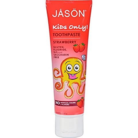 Jason Kids Only Toothpaste Strawberry - 4.2 oz (Dycal Cement)