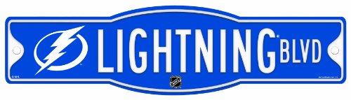 Tampa Bay Wincraft (NHL Tampa Bay Lightning 4.5-by-17 Inch Sign)