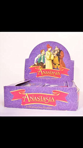 1 Box of Disney Anastasia 1997 Vintage Trading Cards (36) Unopened Packs Leaf Non--sport Awesome from Upper Deck