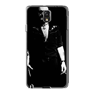 Samsung Galaxy Note3 UPD3485VcOC Allow Personal Design High Resolution Motorhead Band Pattern High Quality Hard Phone Case -InesWeldon