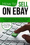 Gain a Second Income by Selling on eBay! Could you use a little extra cash? Do you need to make some money to pay a few bills, go on vacation or just build up some savings? Would you like to earn extra income working from home in your pajamas?  Looki...