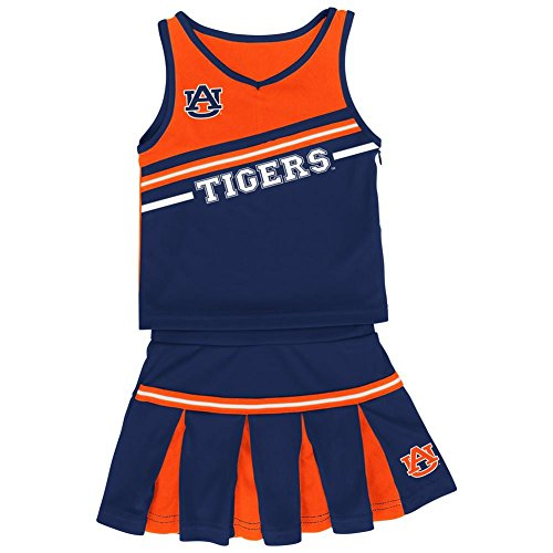 Infant Girls' Auburn University Tigers Cheerleader Outfit (12-18 M) Childs Cheerleader Outfit