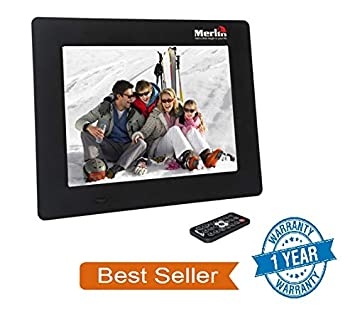 6c6f9c4ef64 Buy Merlin digital india 7-inch Digital Media Frame with LCD Panel Screen