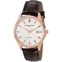 Frederique Constant Men's FC303V5B4 Index Analog Display Swiss Automatic Brown Watch