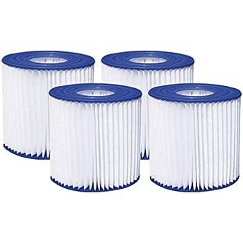.com : type d pool filter cartridges 2-pack (universal ...