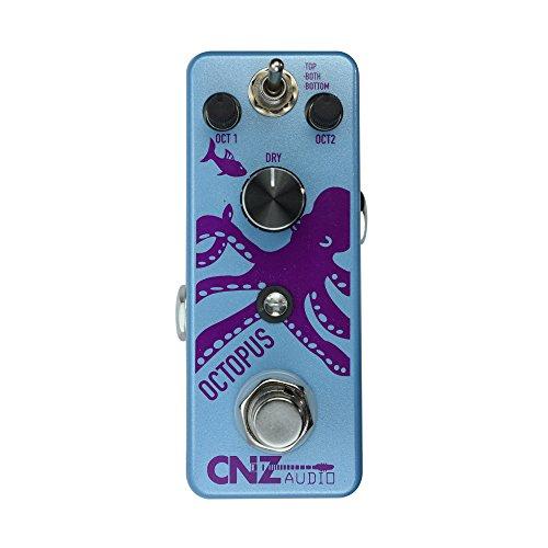 CNZ Audio Octopus - Octave Guitar Effects Pedal, True Bypass ()