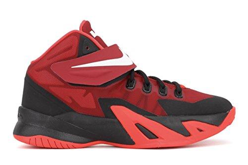 Nike LeBron Soldier VIII (GS) Big Kid Basketball Shoes, 4