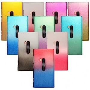3D Colorful Raindrop Design Hard Back Case For Nokia Lumia 920 --- Color:Purple