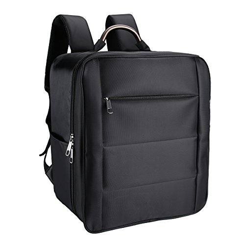 (Powerextra Waterproof Carrying Bag Cases Traveling Backpack for DJI 3 Professional, Advanced, Standard, 4K Quadcopter Drone and Accessories -)