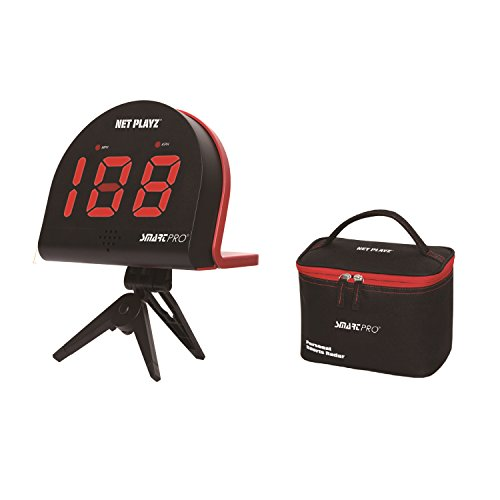 Net Playz Multi-Sports Personal Speed Radar Detector Gun, Measurement Baseball Pitching, Bat Swinging and Soccer Shooting Speed (Bat Speed Radar)