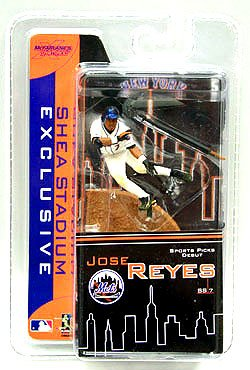 McFarlane Toys 2007 Shea Stadium Exclusive Giveaway MLB 3 Inch Sports Picks Mini Figure Jose Reyes