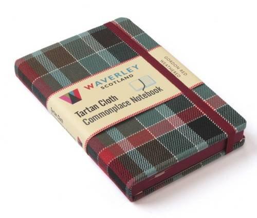 Cordon Red Weathered (Waverley Genuine Scottish Tartan Notebook)