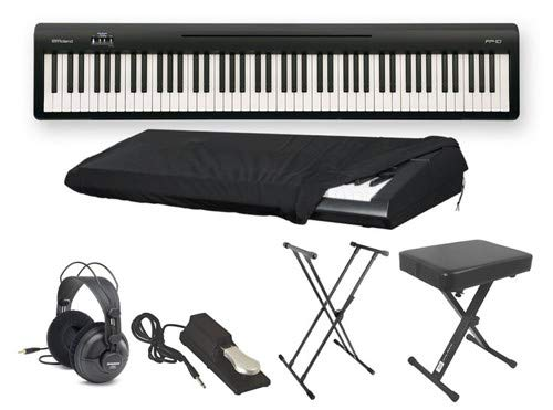 Roland FP10 Ultra Deluxe Piano Package with