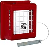 CATO 22012B Red Polyethylene Surface Mounted Pull Station With Gaskets 220-SBX Protective Fire Alarm Cover with Breaker Bar