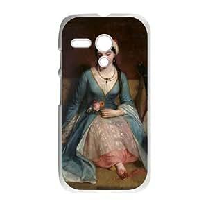Motorola G Cell Phone Case White Greek Art 001 KYS1098645KSL