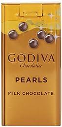 Godiva Milk Chocolate Pearls, 1.5-ounces (Pack of 6)