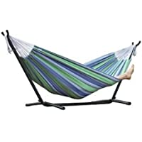 Vivere Combo Double Oasis Hammock with Stand, 8-Feet