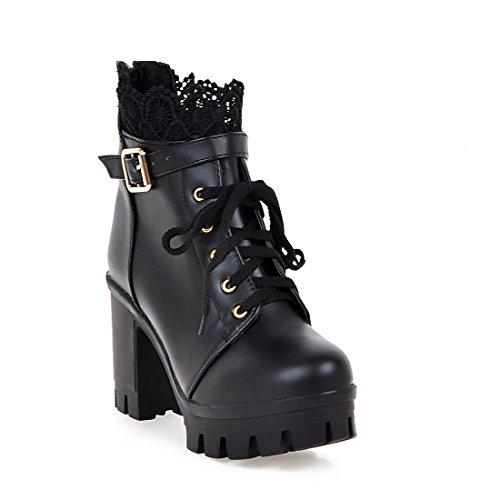 BalaMasa  Abl09595, Sandales Compensées femme - Noir - noir,