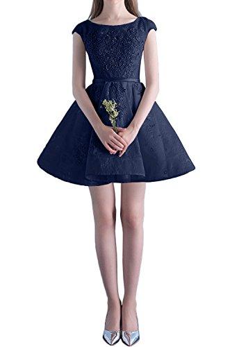 Rosa Abendkleider Mini Marie Cocktailkleider Blau La Spitze Navy Tanzenkleider Heimkehr Glamour Promkleider Kurzes Braut TqwxREf
