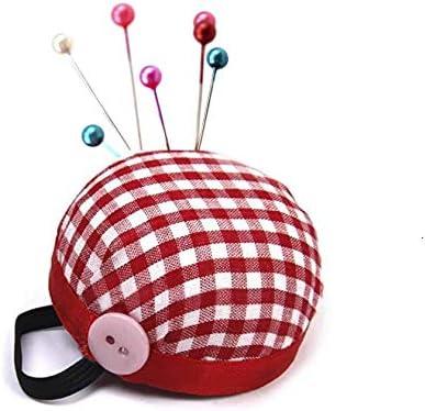 LASSUM - Cojines de costura para coser, acolchado, diseño de cuadros, color rojo: Amazon.es: Juguetes y juegos