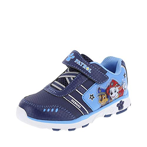 Paw Patrol Nickelodeon Shoes Boy's Navy Boys' Toddler Lighted Runner Toddler Size 9.5 Regular