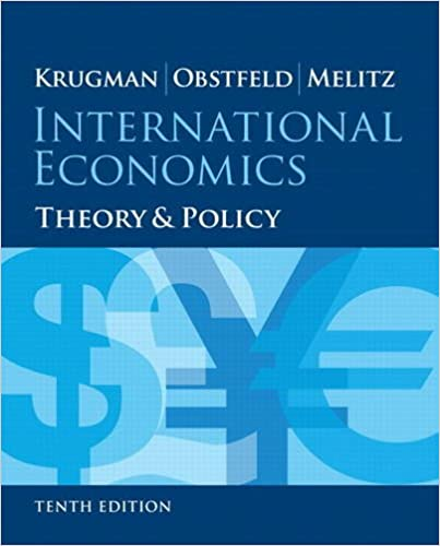 Theory and Policy 10th Edition International Trade