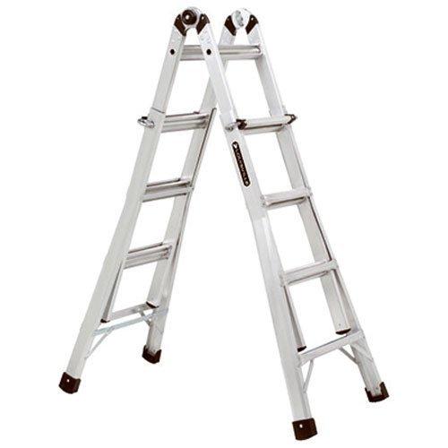 Louisville Ladder L-2098-17 Aluminum Multi-Purpose Ladder, (Louisville Snap)