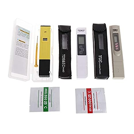 Lindsie Box - 3Pcs Digital TDS Temperature Tester+PH Meter+