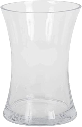 Vickerman Glass Container, 8 , Clear