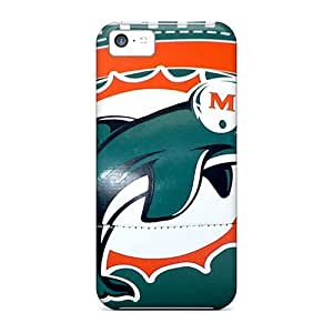 Iphone 5c UcC8585lVzZ Unique Design Attractive Miami Dolphins Pattern Perfect Hard Cell-phone Cases -JasonPelletier hjbrhga1544