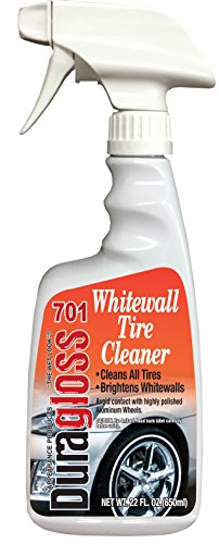 White Wall Cleaner - Duragloss 701 Whitewall Tire Cleaner - 22 oz.