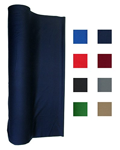 Performance Grade Pool - Billiard Cloth - Felt For An 8 Foot Table Navy Blue (Navy Blue)