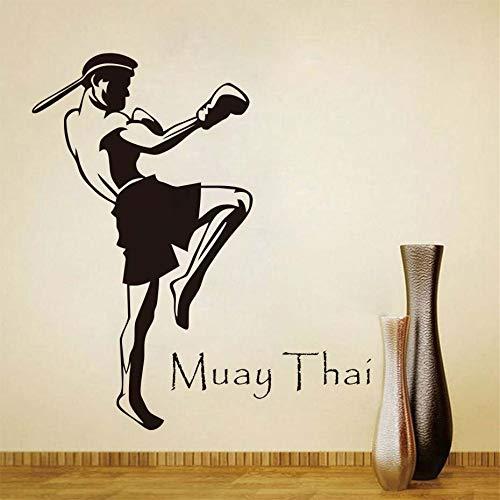 lyclff DMuay Jugador Tailandés Pegatinas de Pared Decoración para ...
