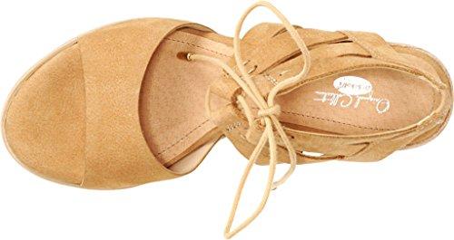 Dr. Scholls Ursprungliga Samlingen Womens Mista Strappy Sandal Naken Läder