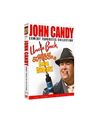 John Candy Comedy Favorites Collection (Uncle Buck / The Great Outdoors / Going Berserk) - John Hughes Dvd Collection