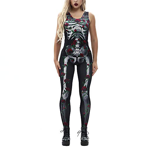 DEATU Clearance Sales! Halloween Costumes Women Jumpsuit Promotion!