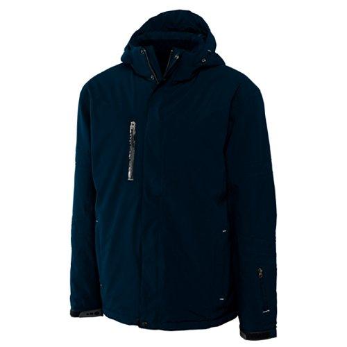 Weathertec Jacket (Cutter & Buck Men's CB Weathertec Sanders Jacket, Navy Blue, X-Large)