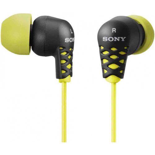 Sony MDR EX37B YLW Earbud Headphones product image