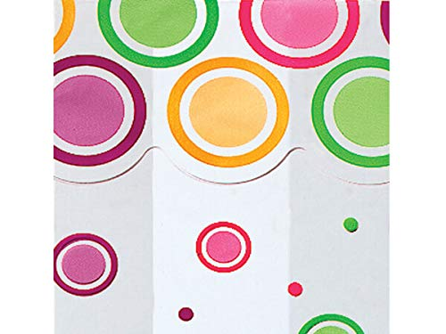All Occasion Cello Gift Bags - 100 Count - Medium - Mod Dots Bright ()