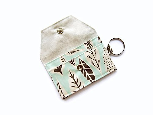 Amazon Keychain Wallet Id Credit Business Card Holder