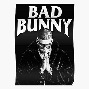 "inch BAD BUNNY Poster Wall Print 24/"" x 36/"" 5"