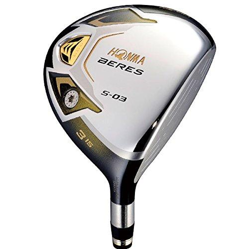 本間ゴルフ 2014 BERES S-03 フェアウェイウッド 3Sグレード シャフト ARMRQ8 49 5W/SR B00PZI8ZN6