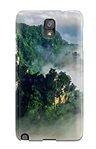 Flexible Tpu Back Case Cover For Galaxy Note 3 - Fog