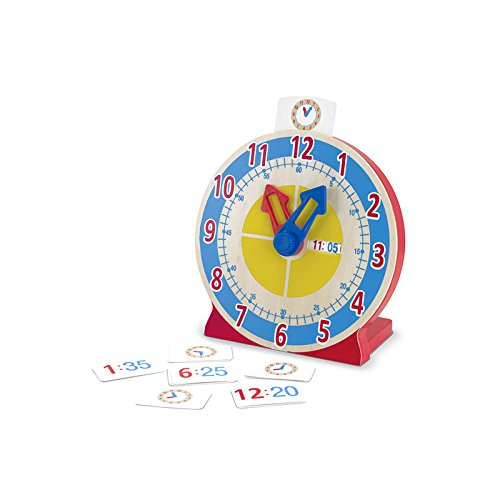 MELISSA & DOUG TURN & TELL CLOCK (Set of 3)