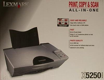 Lexmark X5250 All-In-One Multifunction Color InkJet Printer Copier Scanner