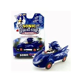 Amazoncom NKOK Sonic and Sega AllStars Racing Pull Back Car