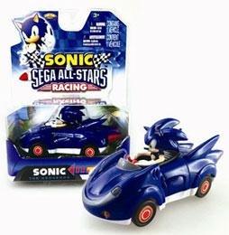 NKOK Sonic and Sega All-Stars Racing Pull Back Car…