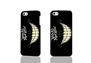 Cheshire Cat 3D Rough Case Skin, fashion design image custom , durable hard 3D case cover for iPhone 5 5S , Case New Design By Codystore