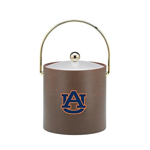 Kraftware Collegiate NCAA Auburn Tigers Football Texture Ice Bucket, 3-Quart